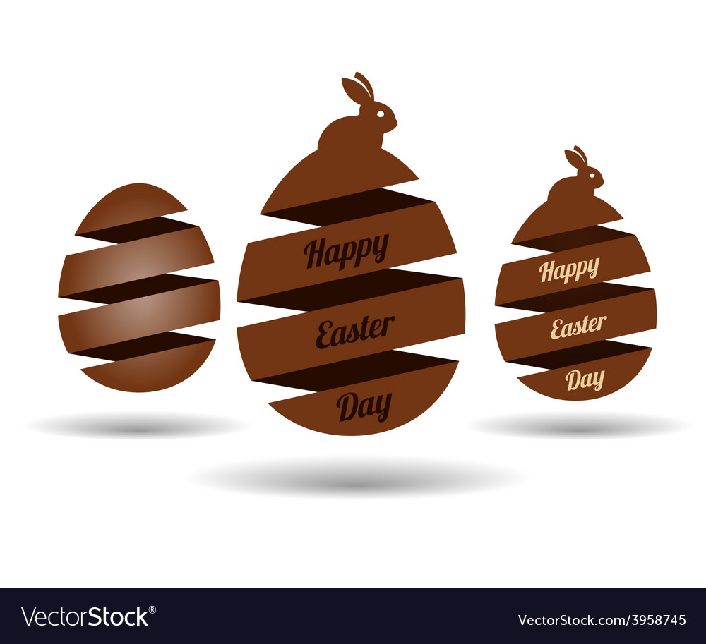 Easter egg banners vector | Price: 1 Credit (USD $1)