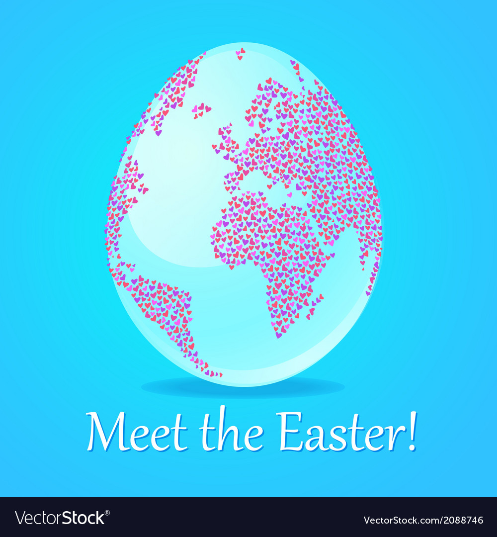 Meet the easter vector | Price: 1 Credit (USD $1)