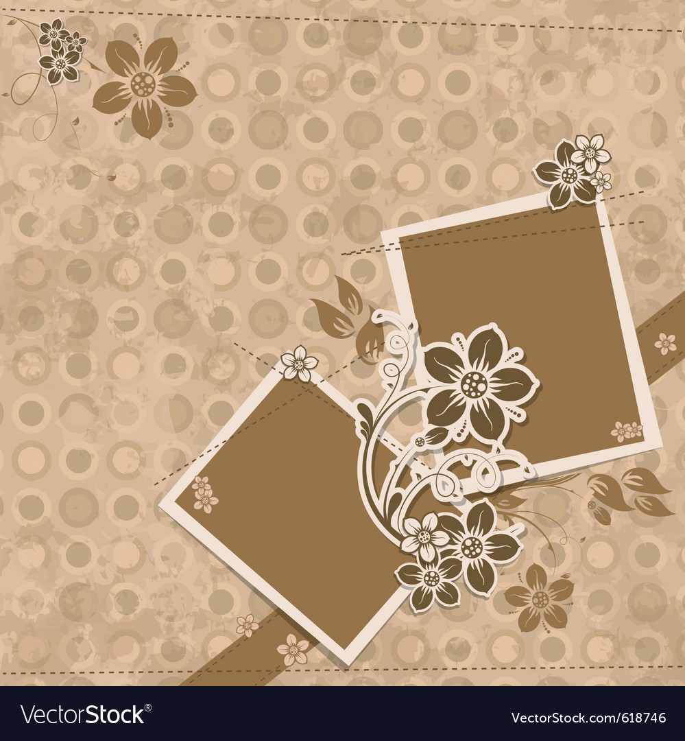 Template scrap card eps10 vector | Price: 1 Credit (USD $1)