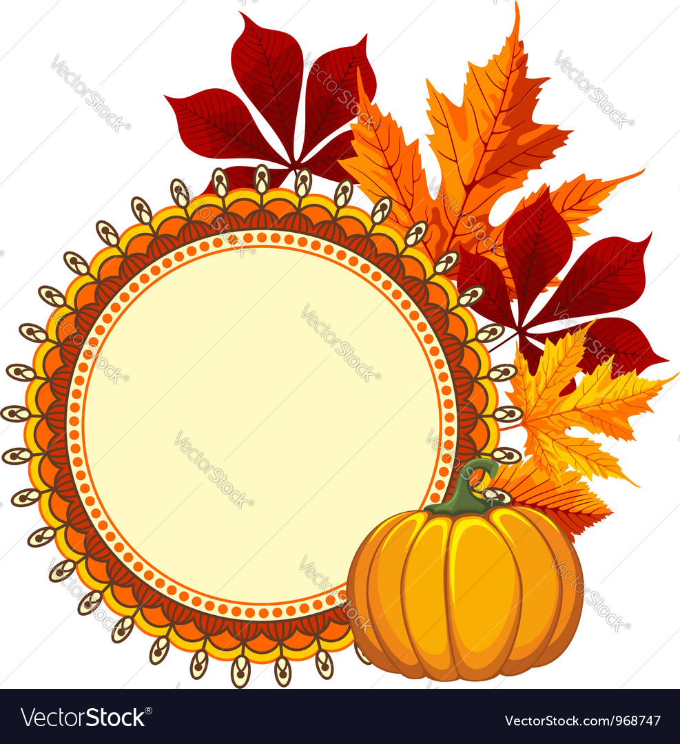 Autumn background vector | Price: 3 Credit (USD $3)