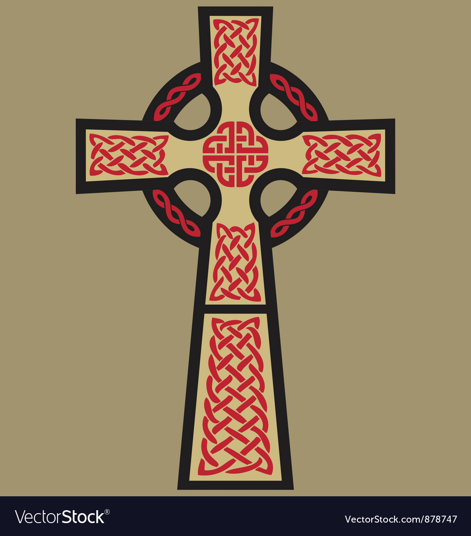 Classic celtic cross vector | Price: 1 Credit (USD $1)