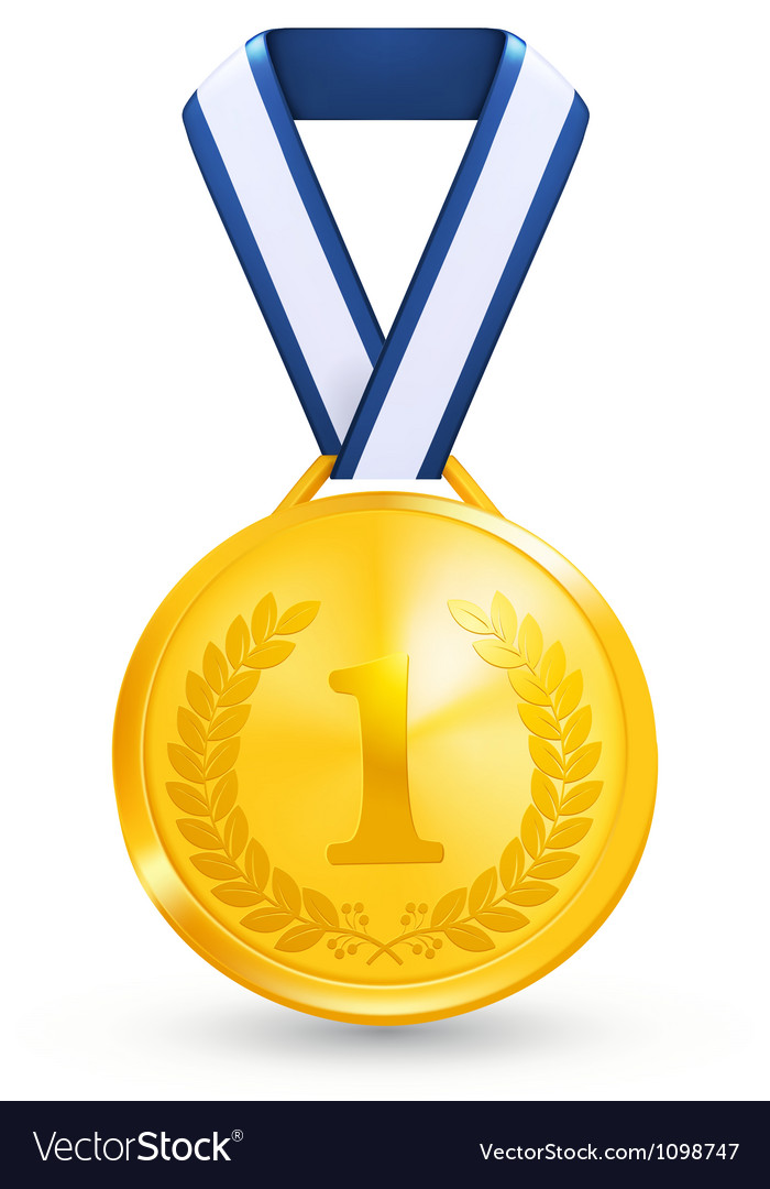 First place award vector | Price: 1 Credit (USD $1)