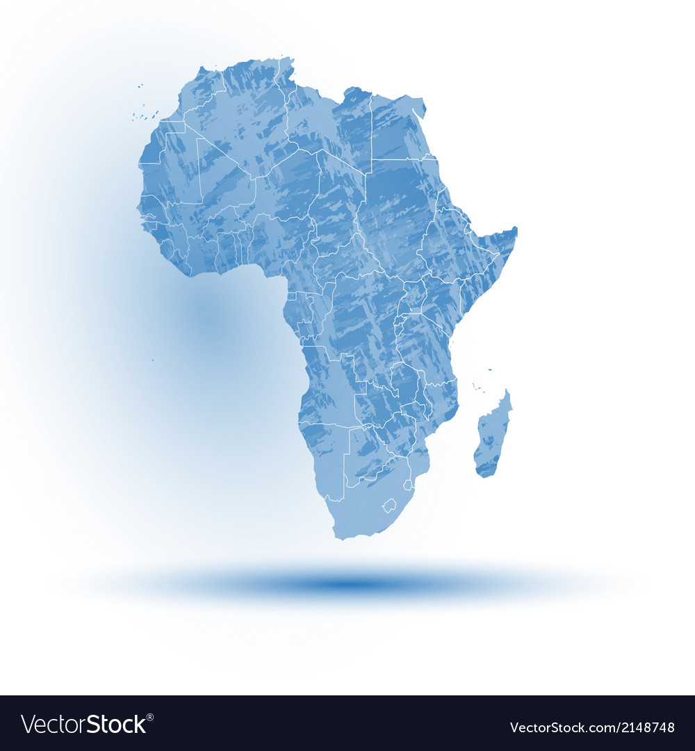 Africa map background vector | Price: 1 Credit (USD $1)