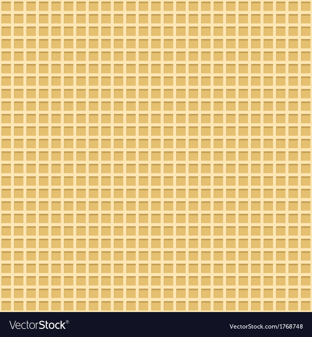 Waffle seamless background vector | Price: 1 Credit (USD $1)