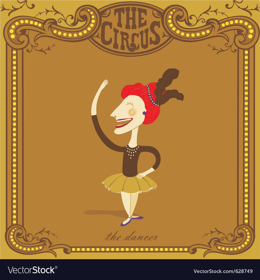 Circus poster vector | Price: 3 Credit (USD $3)