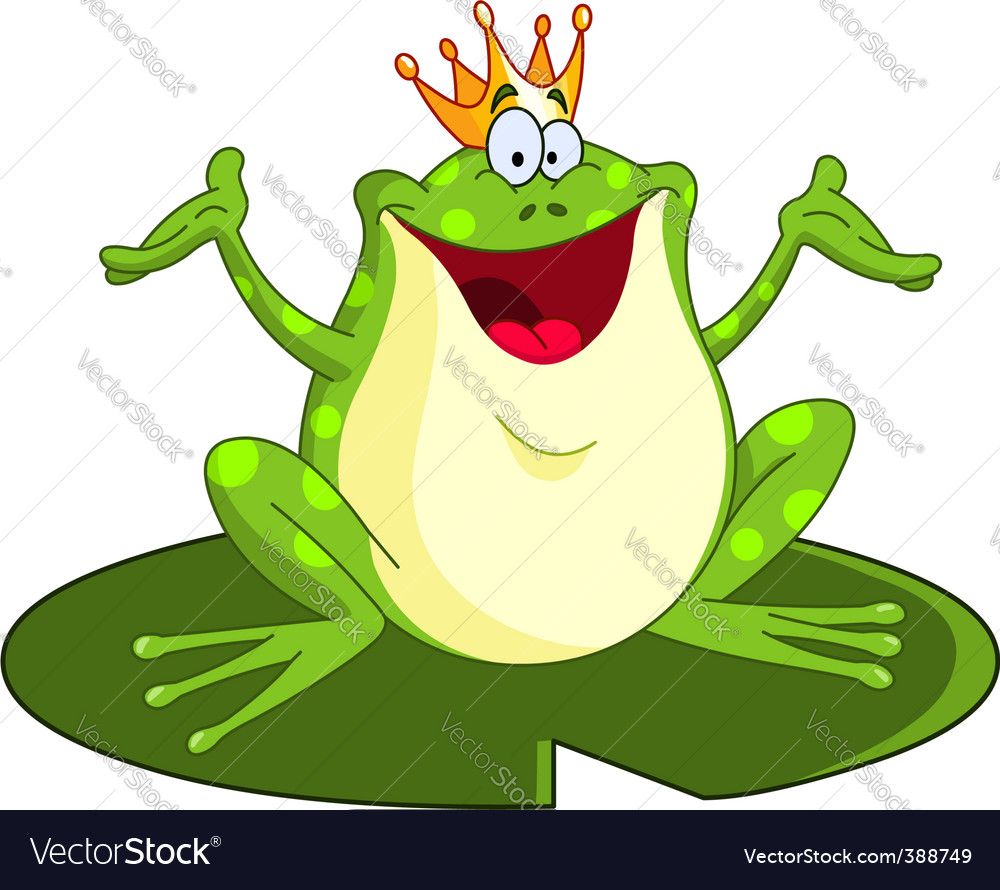 Frog prince vector | Price: 1 Credit (USD $1)