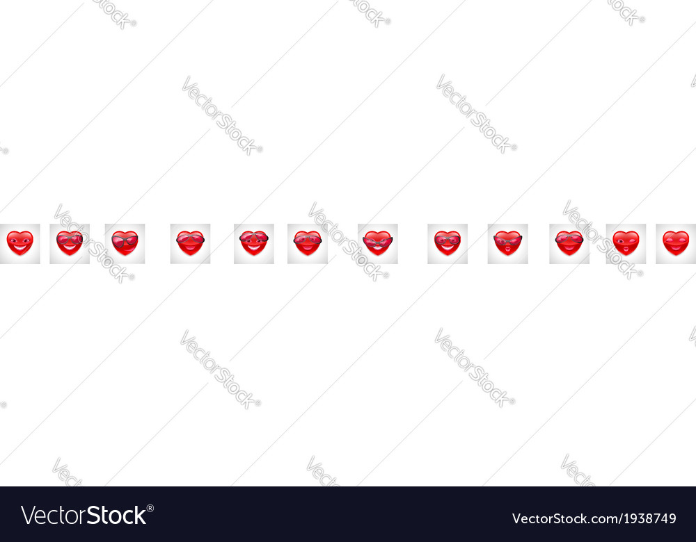 Heart character vector | Price: 1 Credit (USD $1)