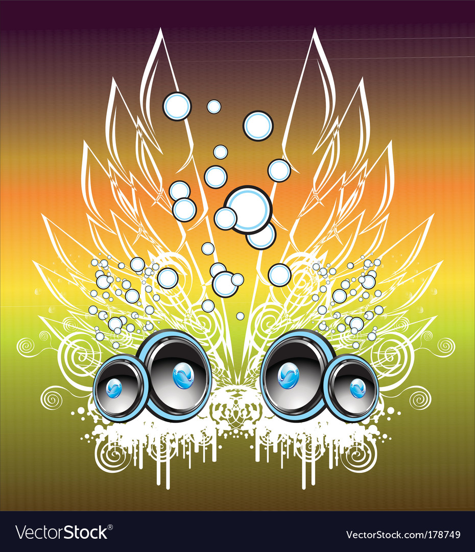 Music fantasy background vector | Price: 3 Credit (USD $3)