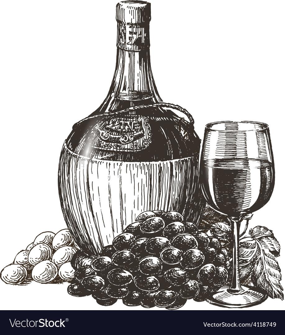 Wine logo design template liqueur or vector   Price: 3 Credit (USD $3)