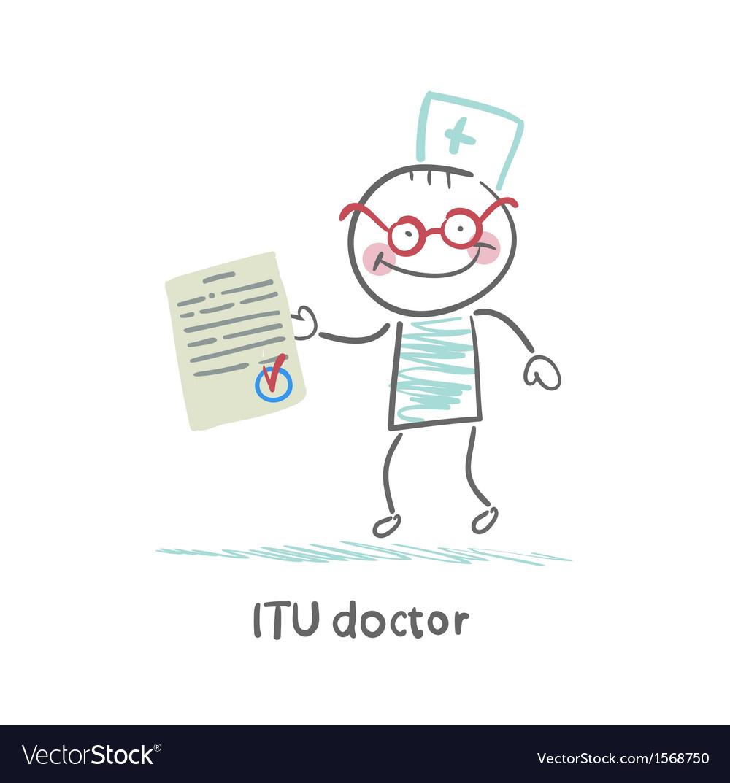 Itu doctor the document vector   Price: 1 Credit (USD $1)