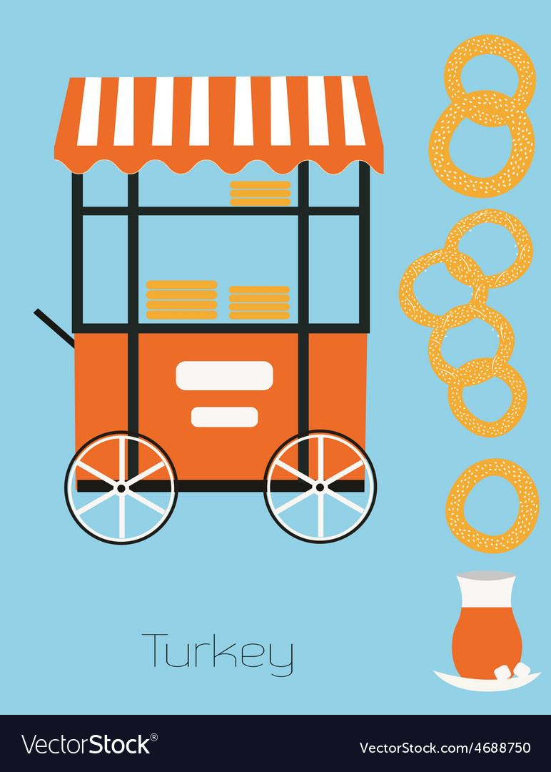 Turkey simit vector | Price: 1 Credit (USD $1)
