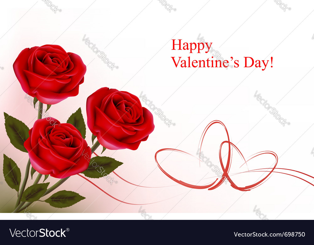 Valentine day background vector   Price: 1 Credit (USD $1)