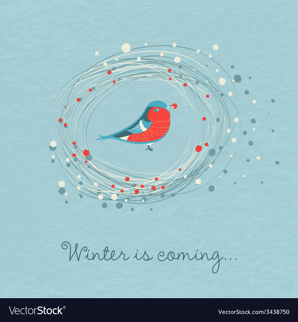 Winter is coming vector | Price: 1 Credit (USD $1)