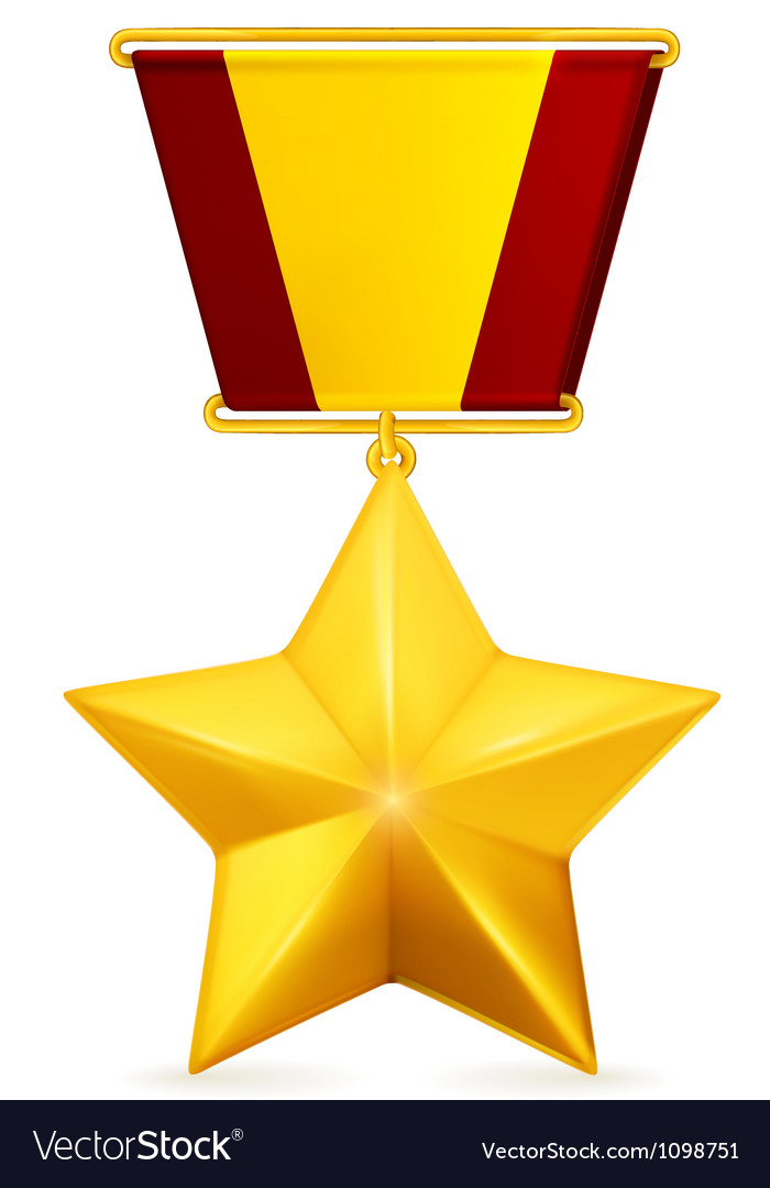 Gold star vector   Price: 1 Credit (USD $1)