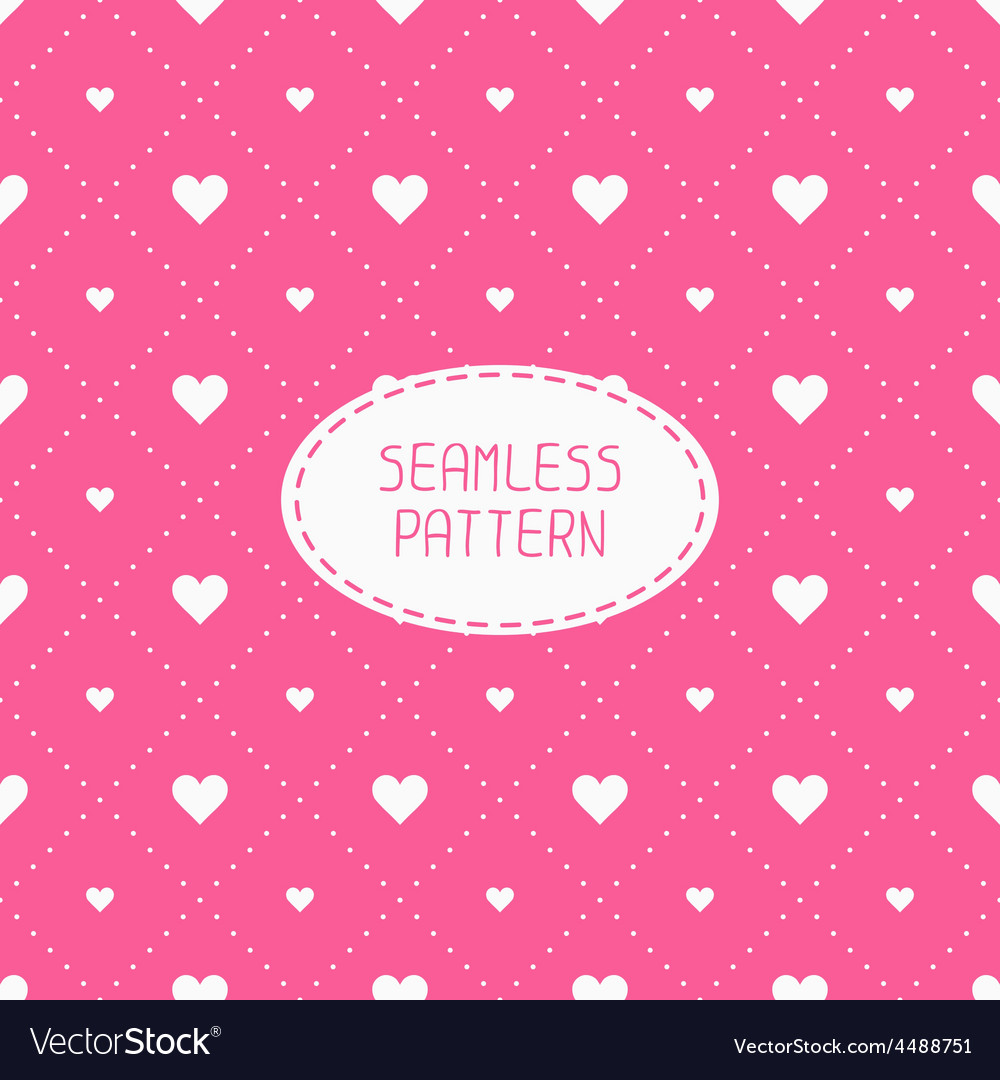 Pink romantic wedding geometric seamless pattern vector   Price: 1 Credit (USD $1)