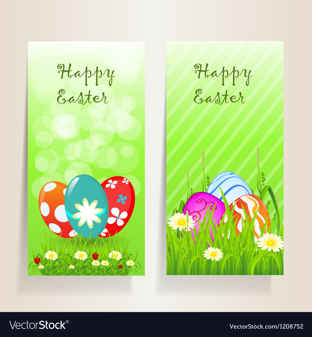 Template easter background vector | Price: 1 Credit (USD $1)