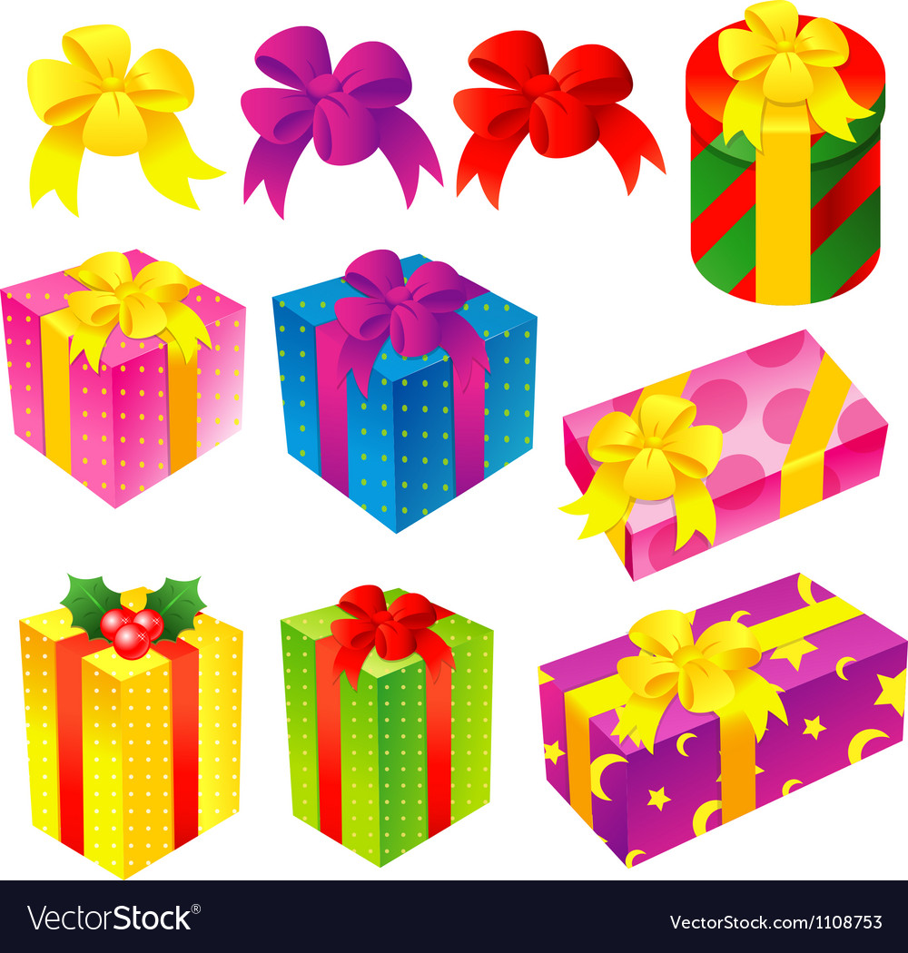 A wide variety of gifts icons sets vector | Price: 1 Credit (USD $1)