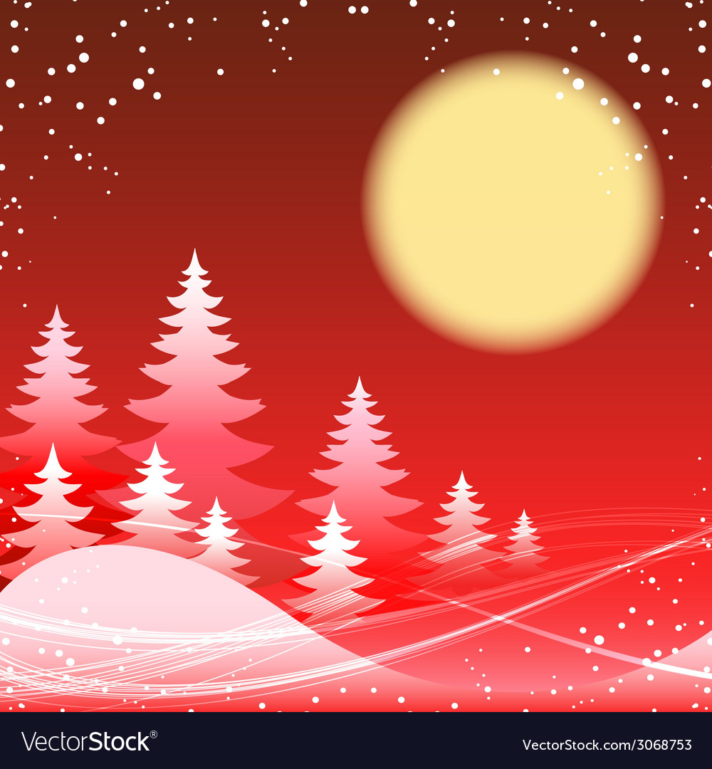 Christmas and new year festive red theme vector | Price: 1 Credit (USD $1)