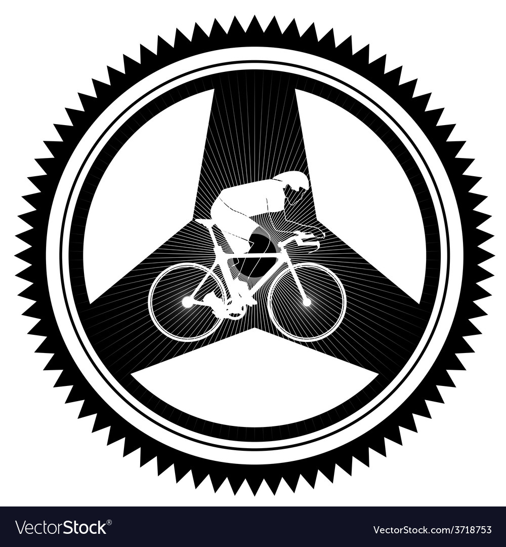 Cycle racing 1 vector | Price: 1 Credit (USD $1)