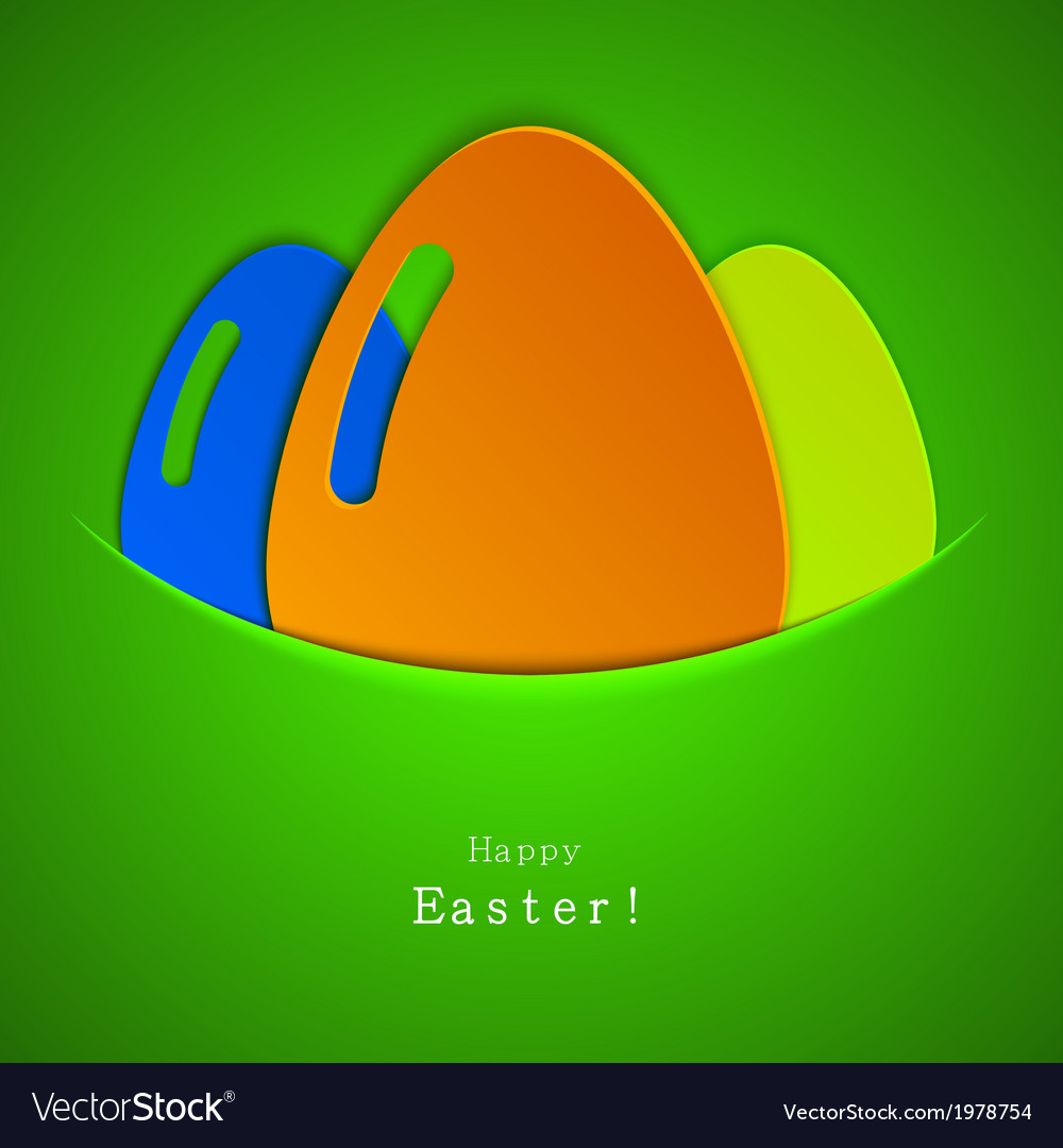 Modern easter egg background eps 10 vector | Price: 1 Credit (USD $1)