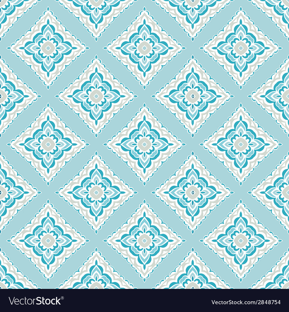 Seamless abstract tiled pattern vector | Price: 1 Credit (USD $1)