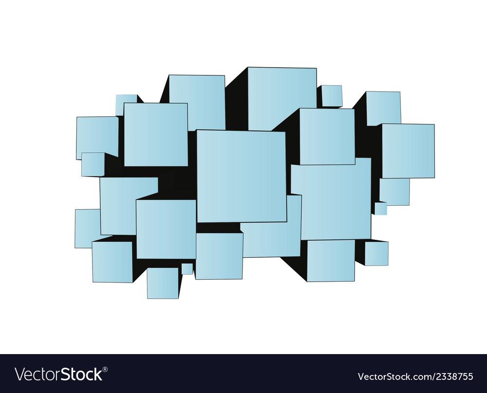 Cubes vector | Price: 1 Credit (USD $1)