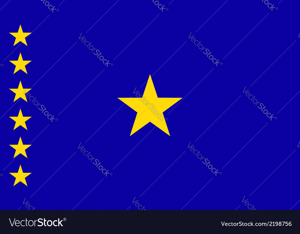 Congo democratic republic vector | Price: 1 Credit (USD $1)