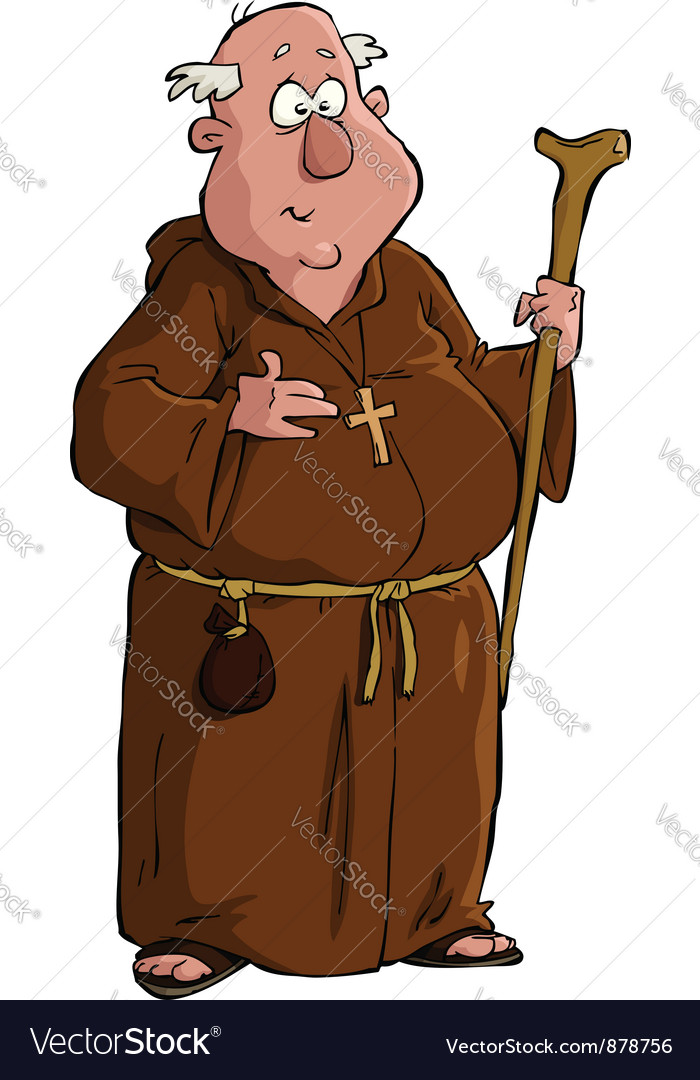 Monk vector | Price: 3 Credit (USD $3)