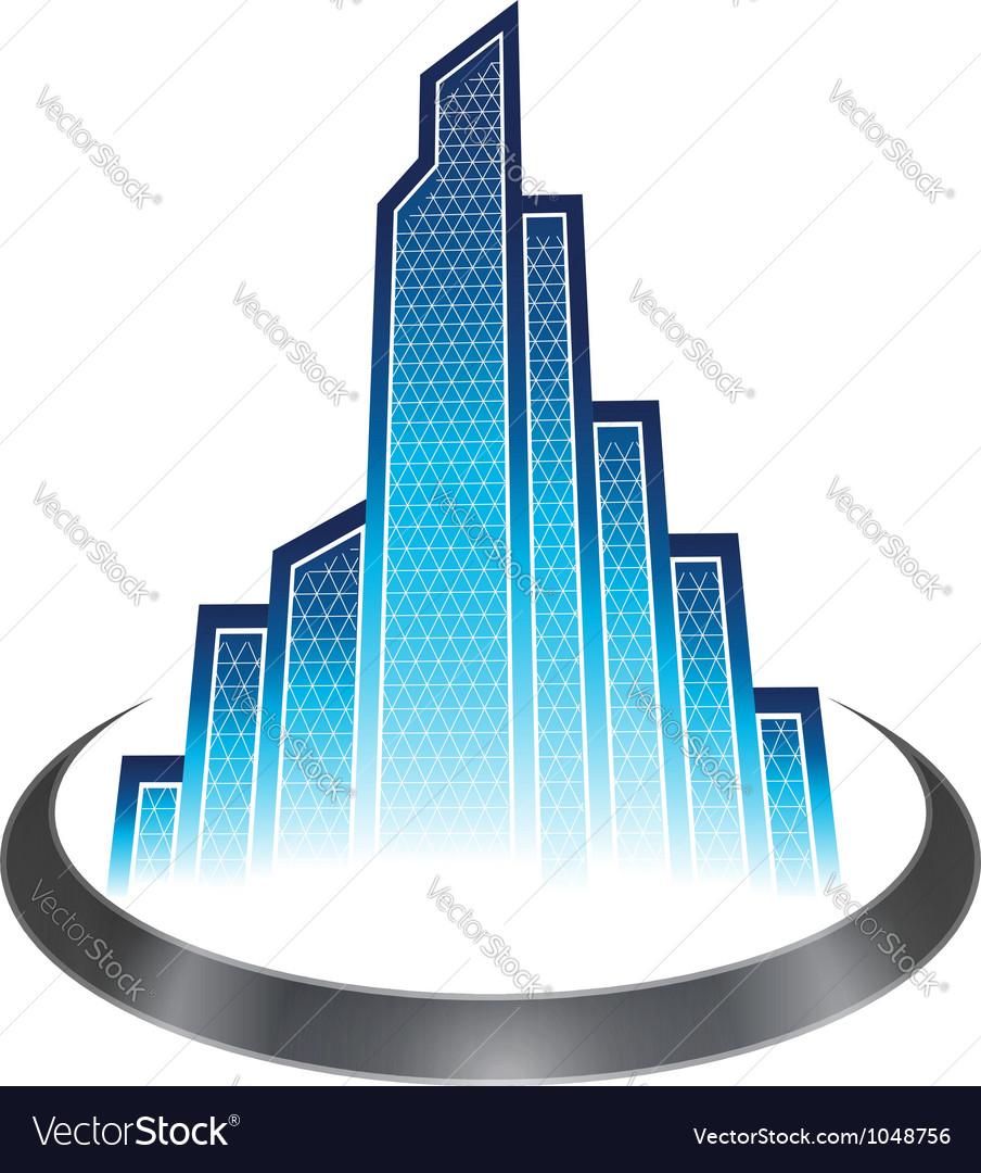 Skyscraper icon vector   Price: 1 Credit (USD $1)