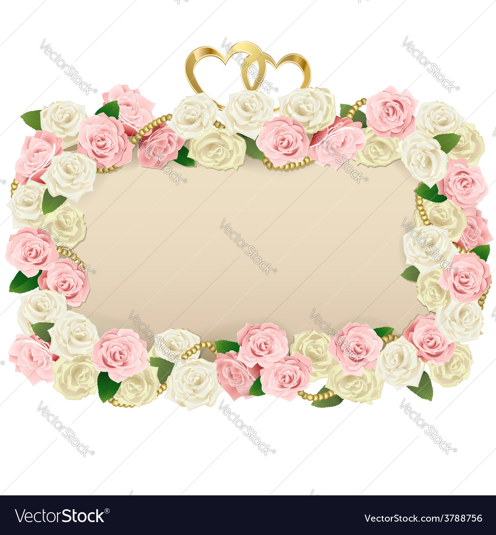 Wedding flower board vector | Price: 3 Credit (USD $3)