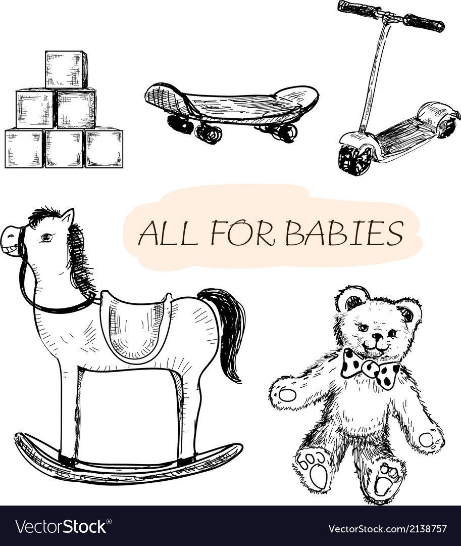 All for babies vector | Price: 1 Credit (USD $1)