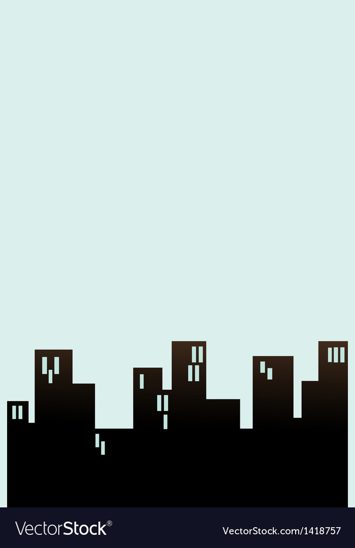 Block cityscape background vector | Price: 1 Credit (USD $1)