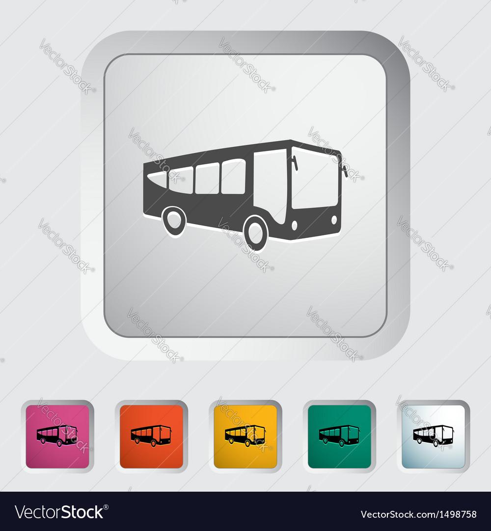 Bus 2 vector | Price: 1 Credit (USD $1)