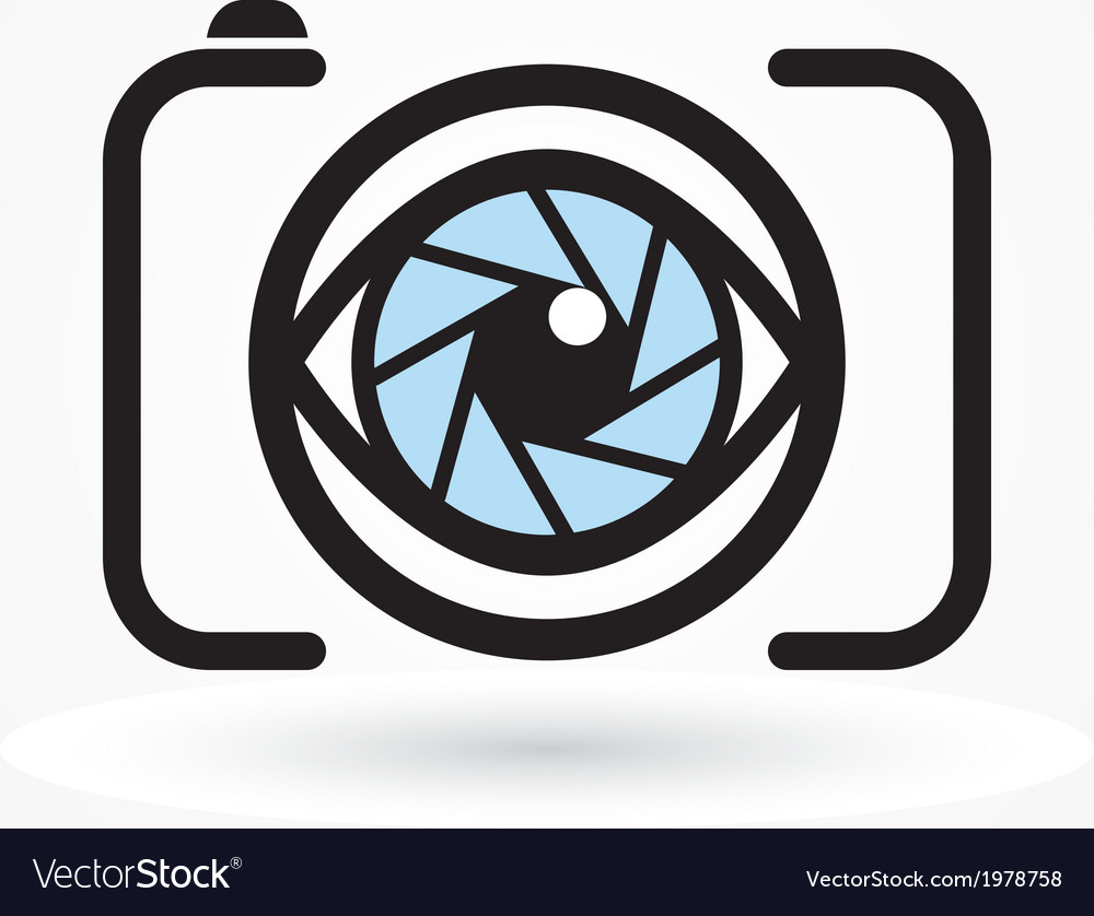 Camera eye icon vector | Price: 1 Credit (USD $1)