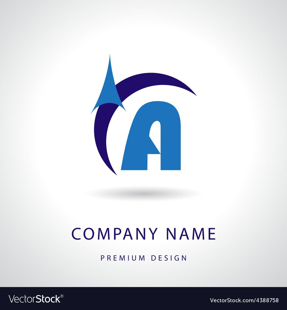 Letter a logo icon design template element vector | Price: 1 Credit (USD $1)