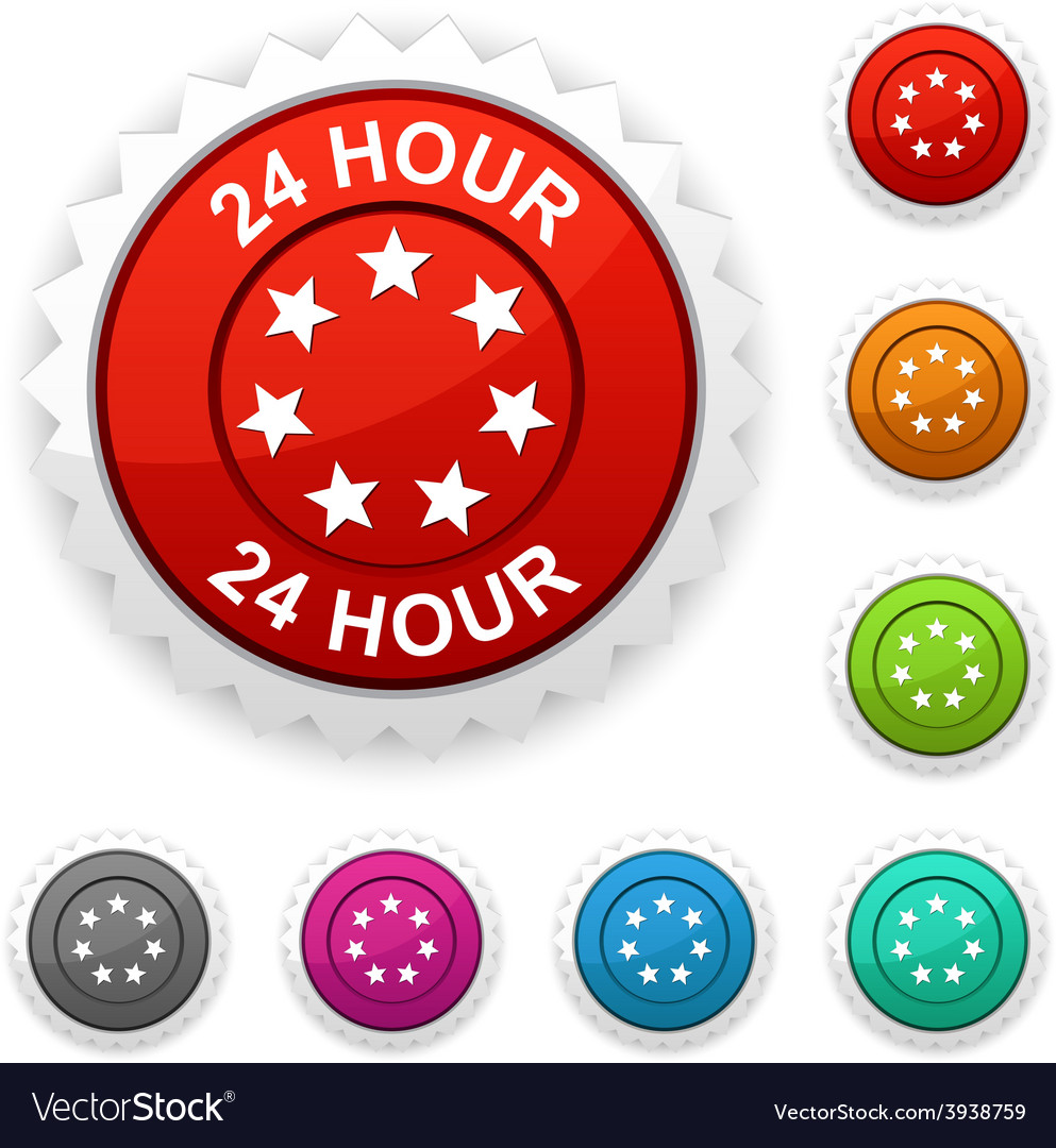 24 hour award vector | Price: 1 Credit (USD $1)
