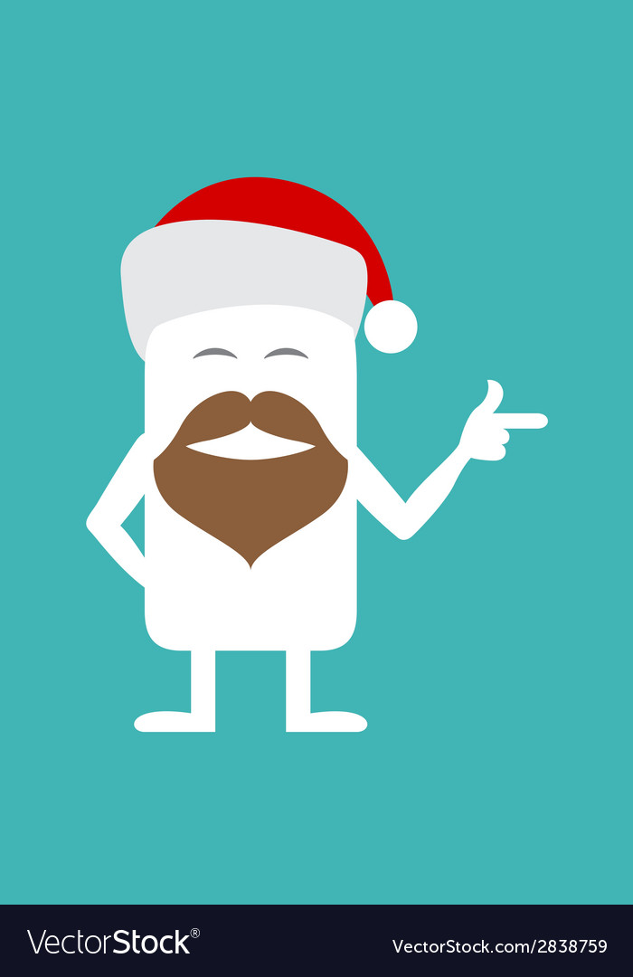 Animated personality santa vector | Price: 1 Credit (USD $1)