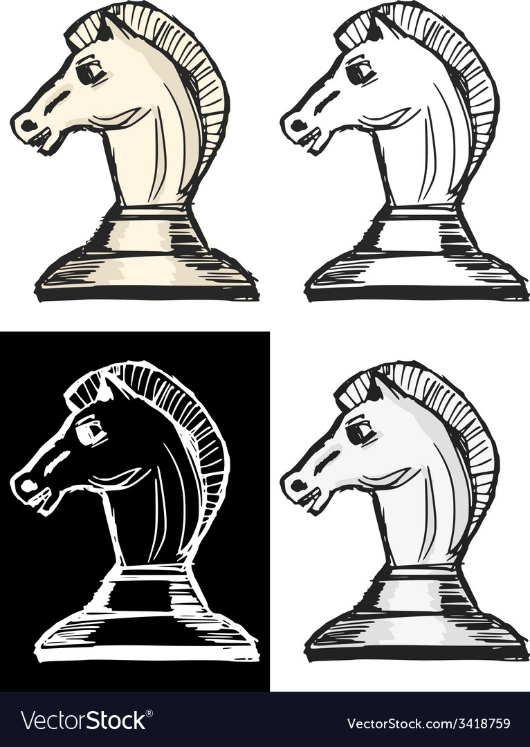 Chess figure vector | Price: 1 Credit (USD $1)