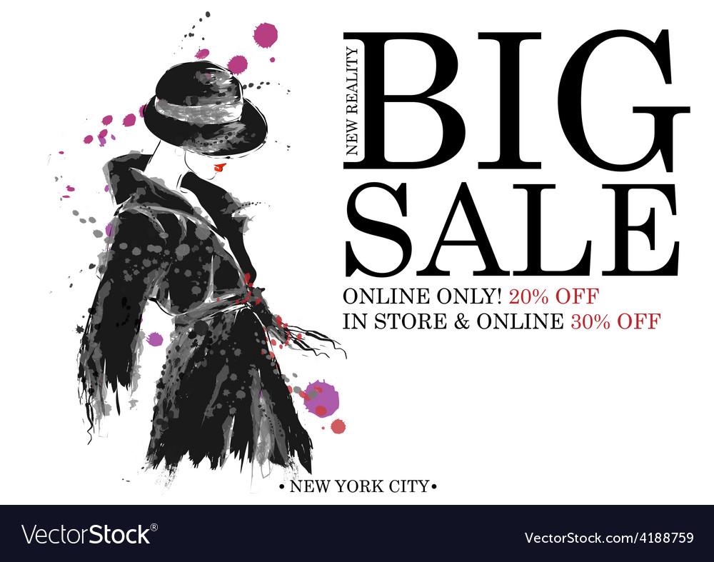 Fashion shopping design vector | Price: 1 Credit (USD $1)