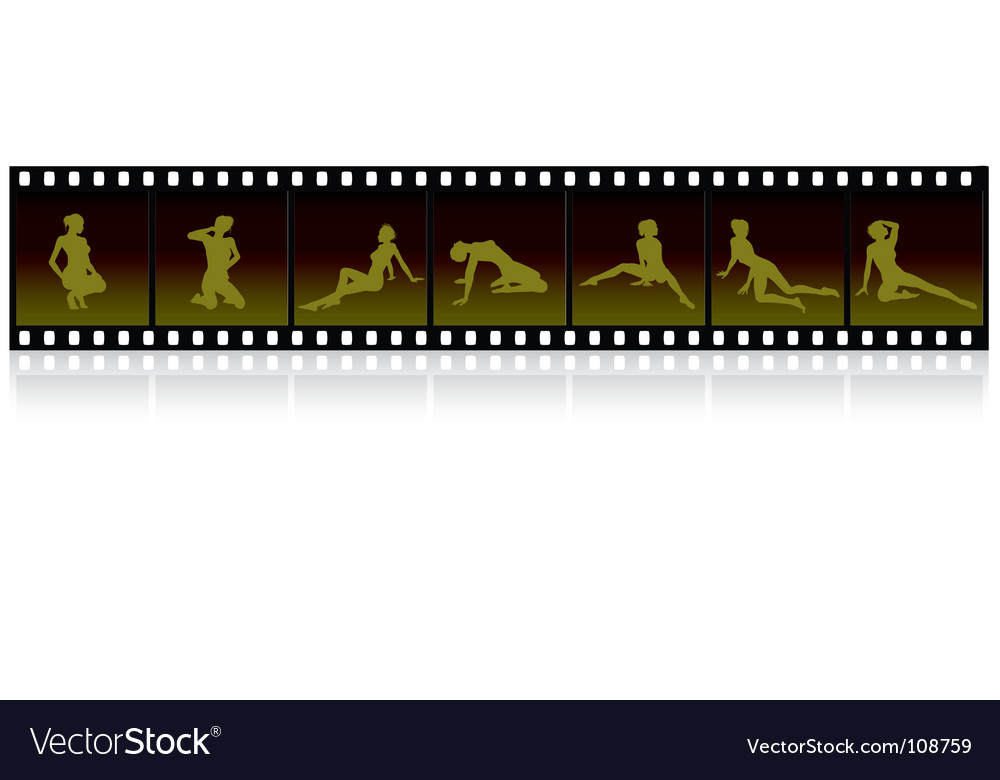 Film strip images vector | Price: 1 Credit (USD $1)
