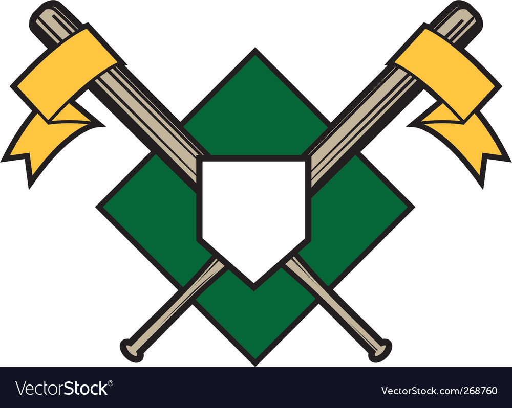 Baseball bats vector | Price: 1 Credit (USD $1)