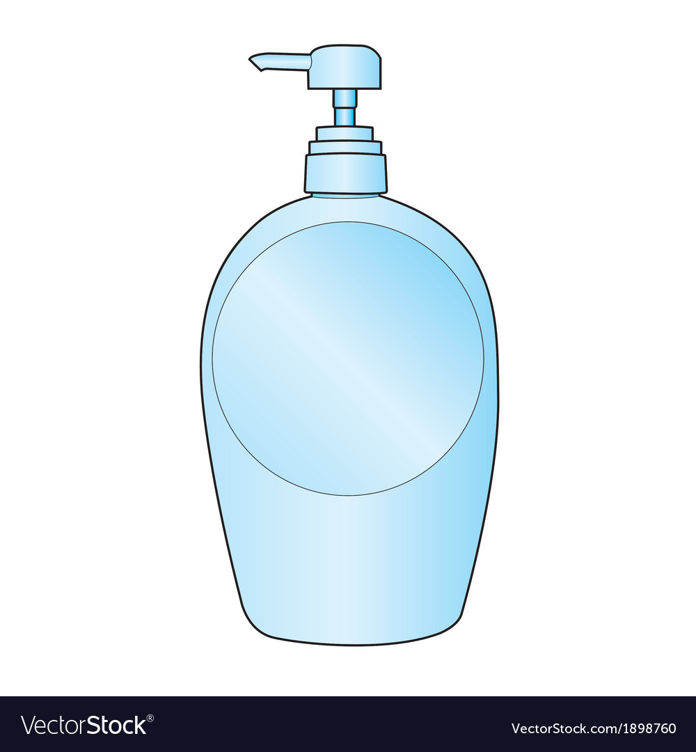 Lotion bottle vector | Price: 1 Credit (USD $1)