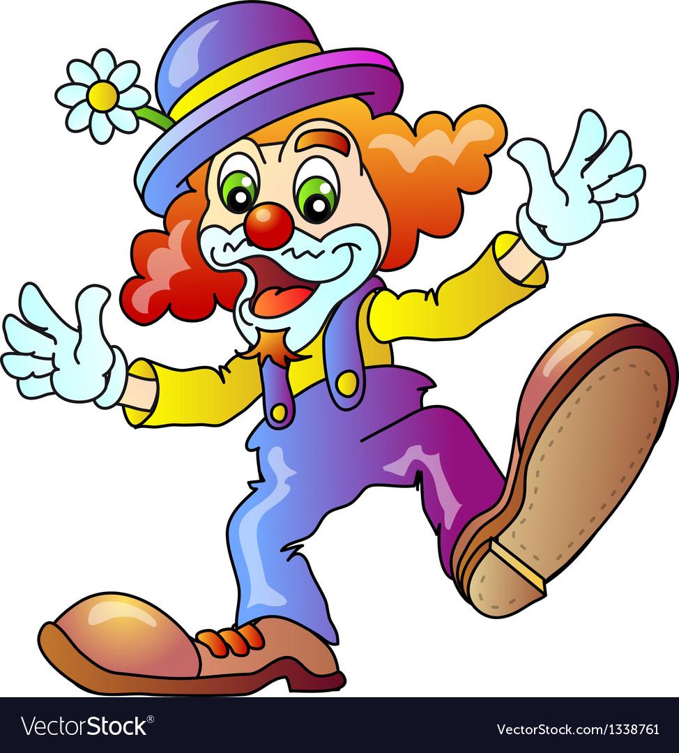 Funny clown vector | Price: 1 Credit (USD $1)