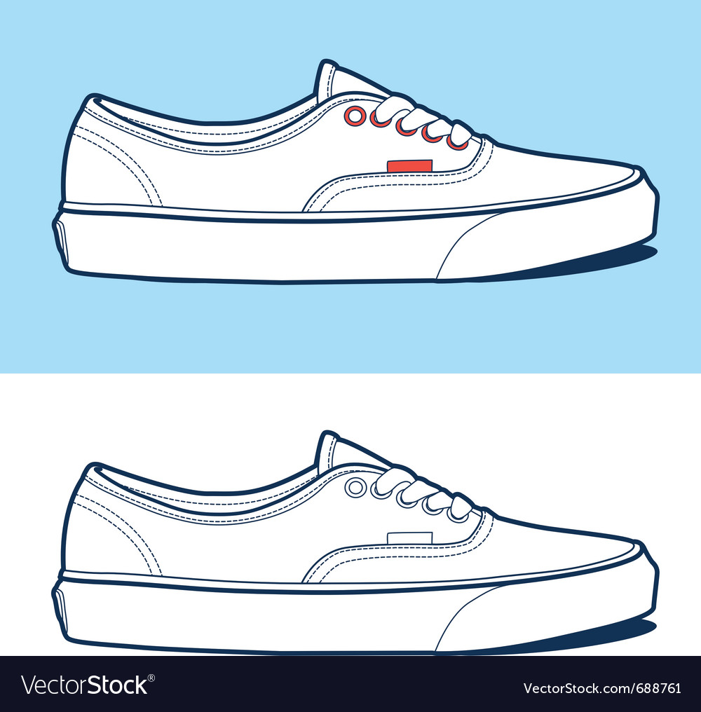 Sport shoe vector | Price: 1 Credit (USD $1)
