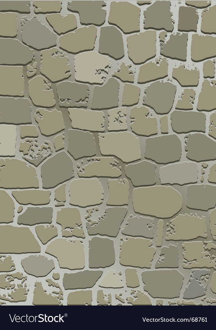 Stone wall texture vector | Price: 1 Credit (USD $1)
