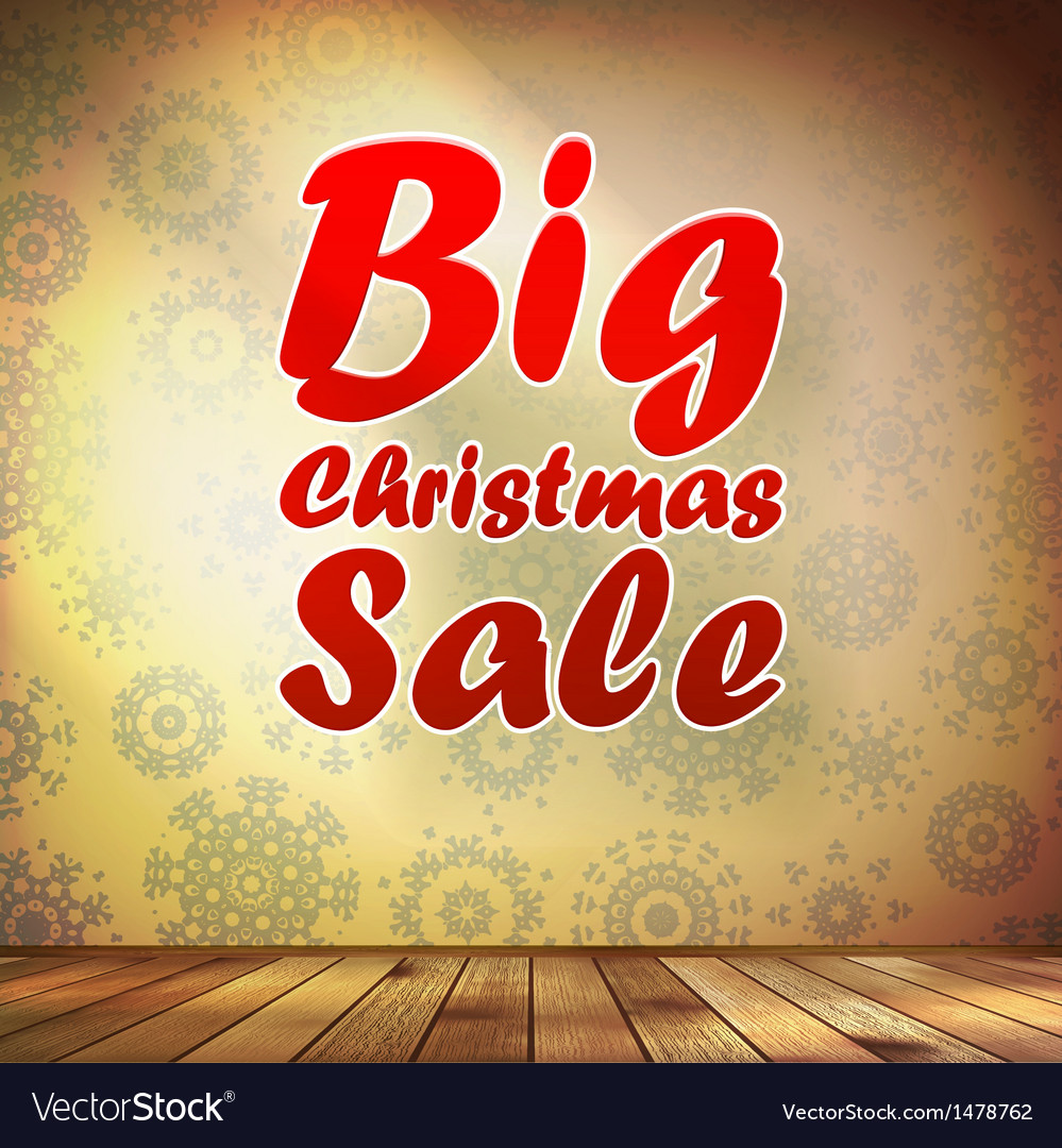 Big sale interior decorated snowflakes eps 10 vector | Price: 1 Credit (USD $1)