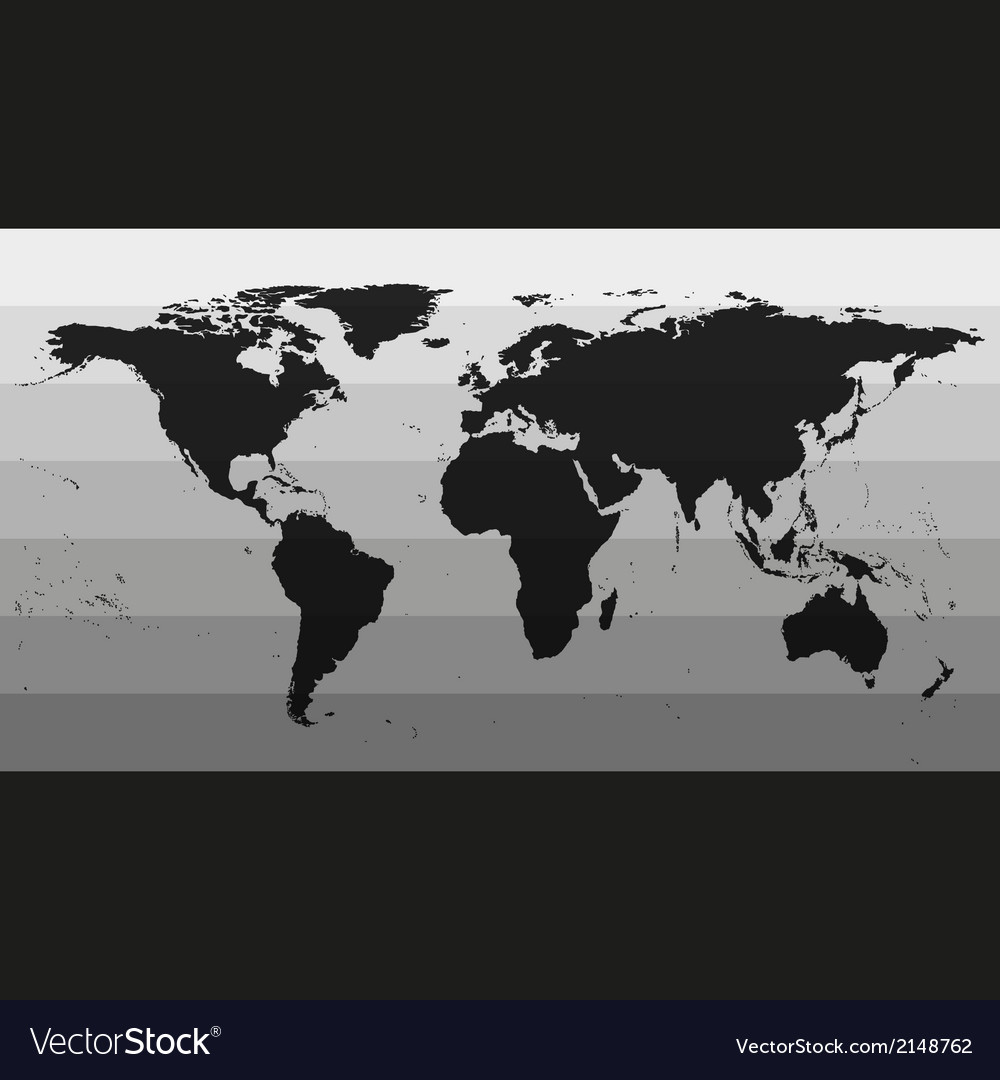 Black world map vector   Price: 1 Credit (USD $1)
