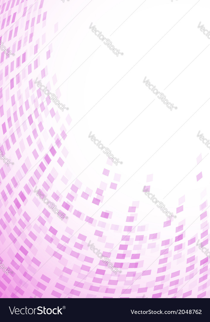 Modern purple particle background vector | Price: 1 Credit (USD $1)