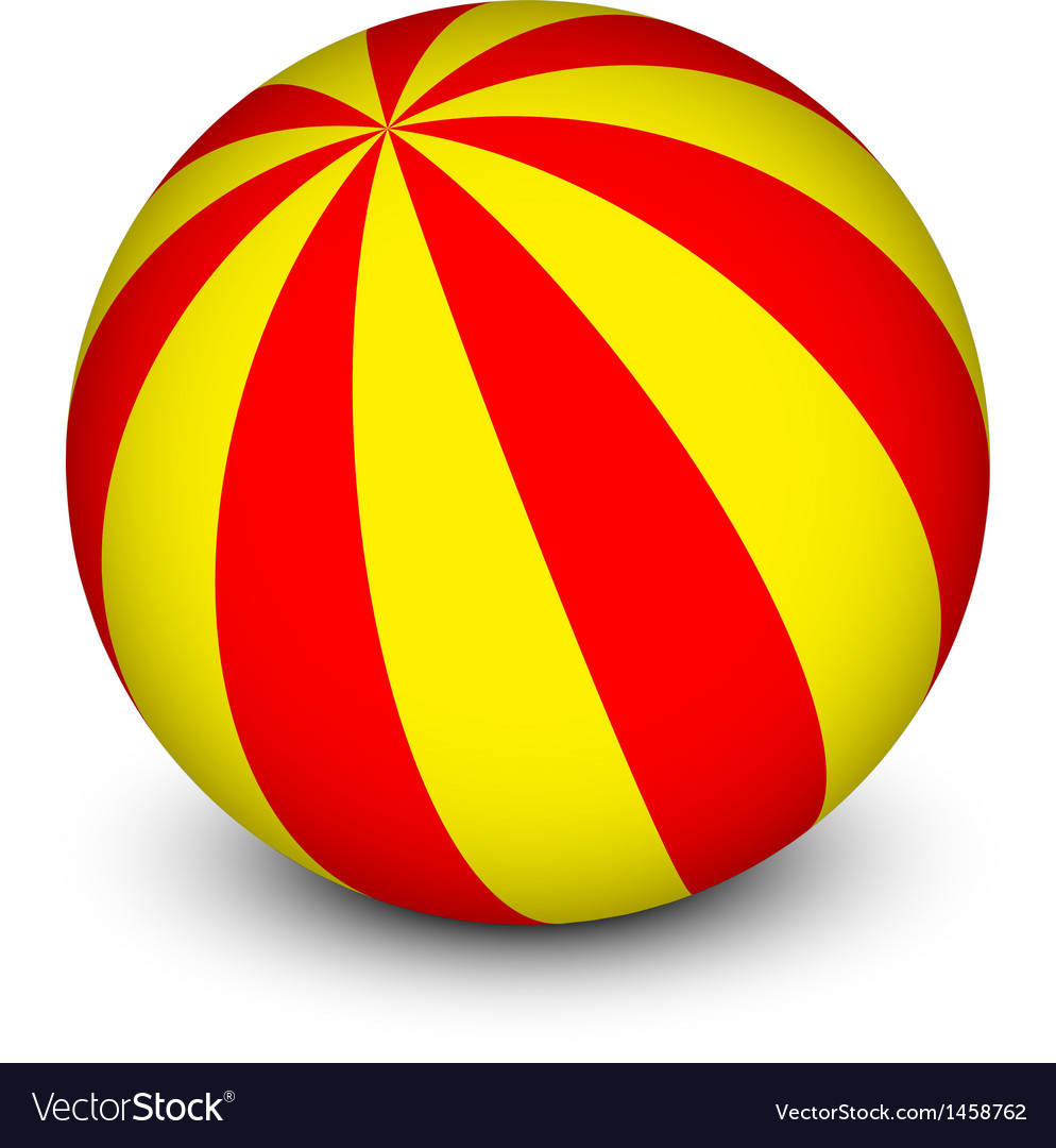 Red and yellow ball vector   Price: 1 Credit (USD $1)