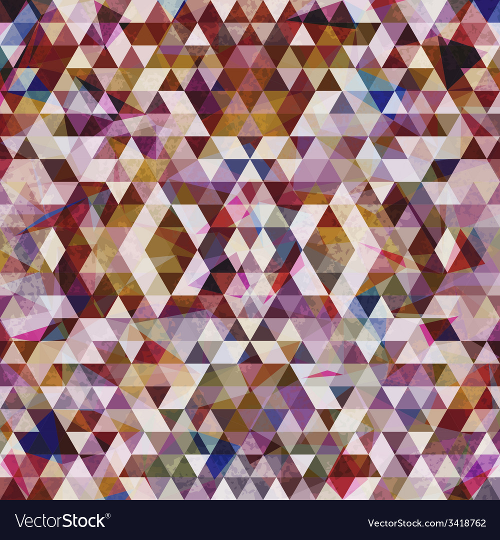 Triangular mosaic purple background vector | Price: 1 Credit (USD $1)